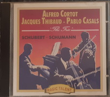 ALFRED CORTOT, JACQUES THIBAUD, PABLO CASALS TRIO     CD
