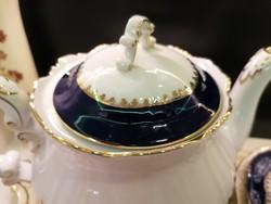 Zsolnay Pompadour II teás kiöntő