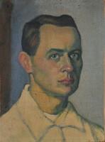 Kmetty Jánosnak (1889-1975) tulajdonítva: Férfiportré
