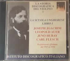 JOACHIM, AUER, HUBAY, FLESCH   HEGEDŰ     CD   RITKA !!