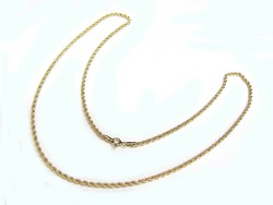 Arany walles nyaklánc (K-Au95325)