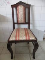 Antik 110 éves neobarokk szék felújítva!