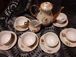 Régi teás készlet