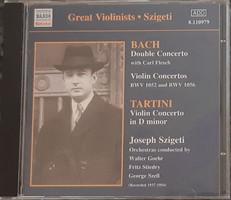 GREAT VIOLINISTS  SZIGETI     CD