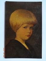 Régi, antik Degi Gemälde képeslap, Nr. 860 Erwin