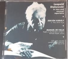 LEOPOLD STOKOWSKI   IN RARE AND UNUSUAL REPERTOIRE   CD   RITKA !
