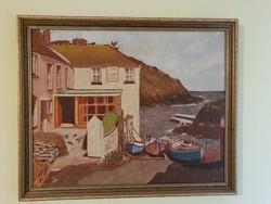 40×50cm es festmény eladó