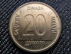Jugoszlávia 20 Dínár 1989 (id34443)