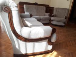 3-2-1-es barokk ülőgarnitúra