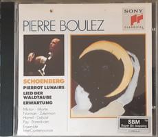 PIERRE BOULEZ  SCHOENBERG MŰVEKET VEZÉNYEL    CD