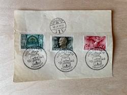 Horthy Miklós országlásának 20. évfordulójára sor - Kolozsvár visszatért bélyegzéssel