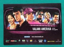 Valami Amerika című film reklám anyag,magyar színész,képeslap,postatiszta