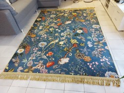 Álomszép gépi pamut szőnyeg fali szőnyeg 170x240 ingyen posta KZM_415