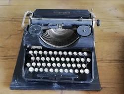 Olympia írógép, régi írógép dekorációnak