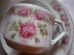 Romantikus rózsás reggeliző szett