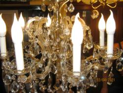 Régi Mária Terézia kristály csillár