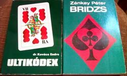 2db. Kártya könyv egyben!