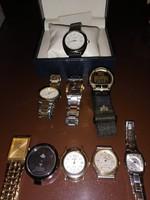 Eladó karóra csomag Seiko, Timex, Peugeot stb