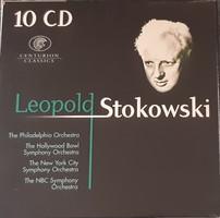 LEOPOLD STOKOWSKI DIRIGÁL   10 CD SET