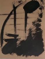 Borsos Miklós - 32 x 24 cm tus. papír