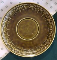 Kispesti mázas kerámia tányér