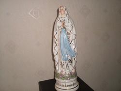 Antik Szent Erzsébet Pócelán Szobor