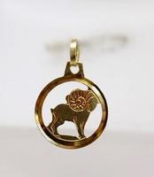 Arany kos horoszkóp medál (ZAL-Au88031)