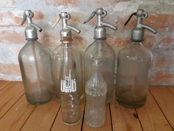 Üdítős, colás,  szódás,  sztáros üvegek