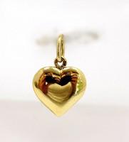 Arany szív medál (ZAL-Au96072)