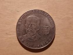Ecuador 50 cent 2000