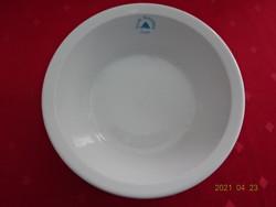 Alföldi porcelán leveses tányér, Állami Szanatórium Sopron felirattal.