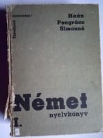 Német nyelvkönyv  !! 1974 -es kiadás   !!