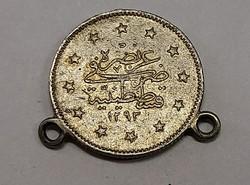 Törökország ezüst 2 Kurush 1293//32, F.