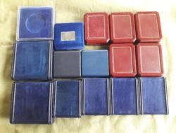 Érmetartó dobozok 15 db