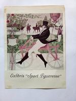 Ex libris - könyvjegy, Sport Figuerense