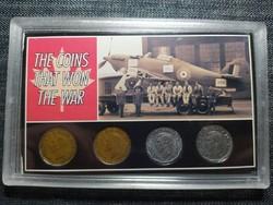 Kanada Az érmék, amik megnyerték a háborút 1942-1945 szett (id48135)