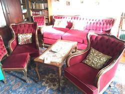 Barokk stílusú ülőgarnitúra eladó