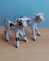 2 db Kőbányai Porcelángyár porcelán boci