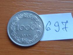 AUSZTRIA OSZTRÁK 1000 KORONA 1924 TIROLI NŐ #697