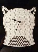 Kitten / cat wall clock