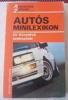 Autós minilexikon- és egyben10 nyelvű szakszótár