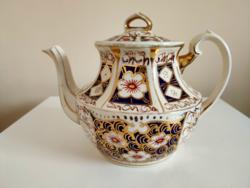 Arthur Wood angol teáskanna gazdag aranyozott díszítéssel az 1930-as évekből