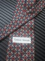 Armani / Midcentury luxus, kézzel készített selyem nyakkendő: Armani, Designer férfi öltözet