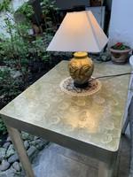 , ART DECO RETRO asztal (designer Vintage darab).