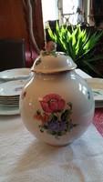Herendi fedeles virágos teafűtartó 24 cm