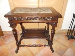 Antik ónémet asztal,szalonasztal