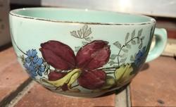 Zsolnay faience teacup