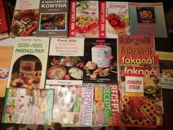 Óriás szakácskönyv gyűjtemény