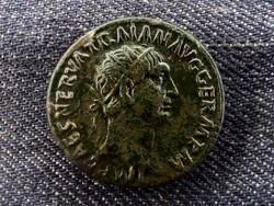Traianus Dupondius 99 TR POT COS II P P S C (id8466)
