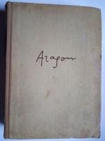 Louis Aragon könyv  !! 1956 -os kiadás   !!